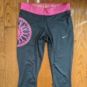 Soul Cycle Nike Dri--fit Cropped Legging